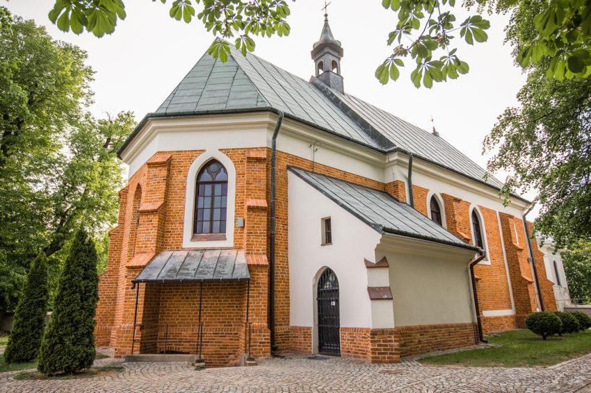 kosciół św. Jakuba w Tarchominie